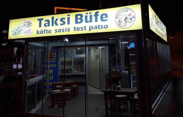 Ataşehir Cambalkon taksi büfe